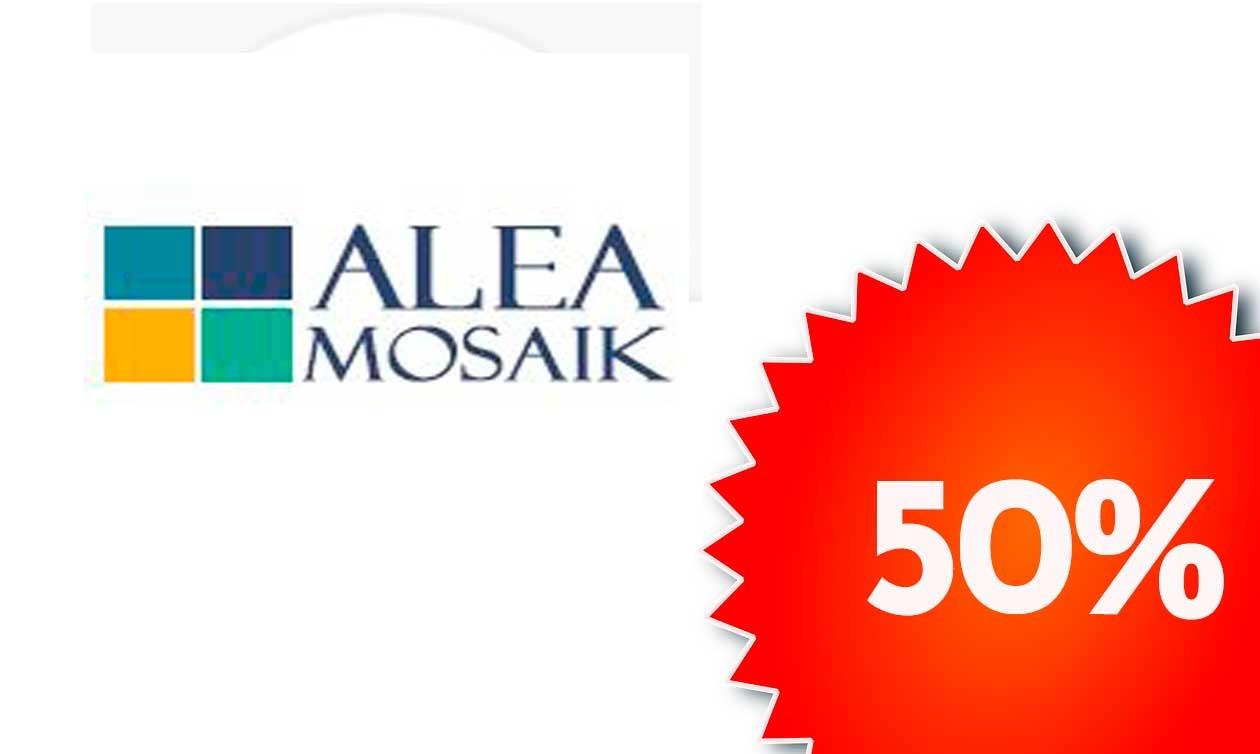 5 Marcas 50% hasta el 25 de Agosto, Alea Mosaic