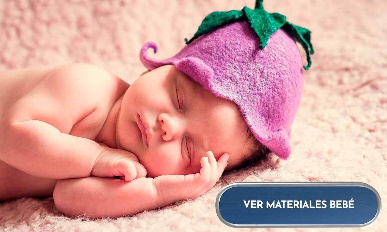 Materiales para bebés