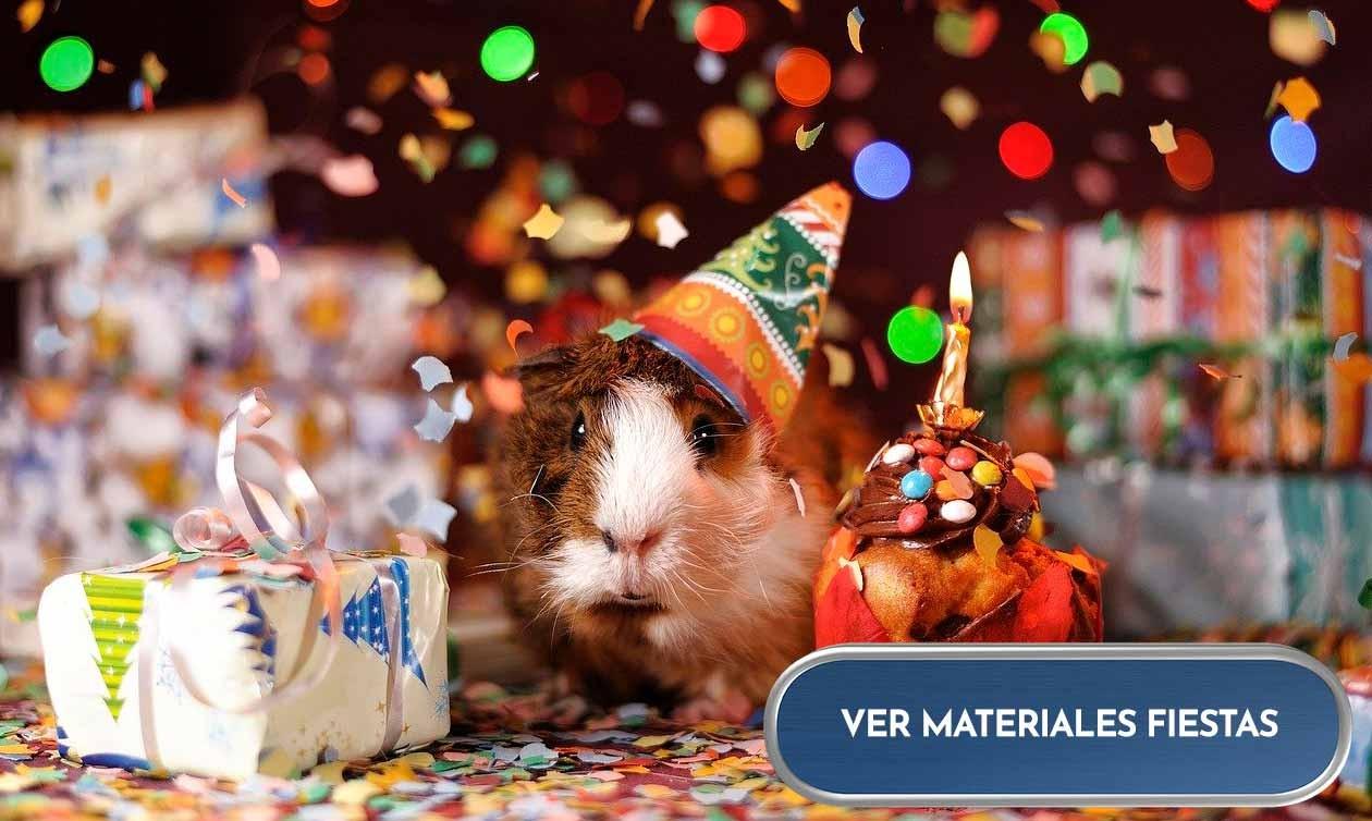 Materiales para cumpleaños y fiestas