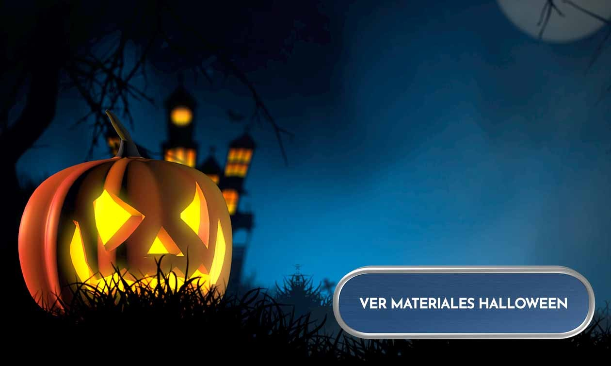 Materiales manualidades Halloween