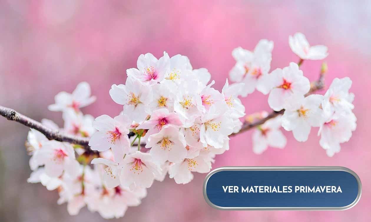 Materiales Primavera: Flores