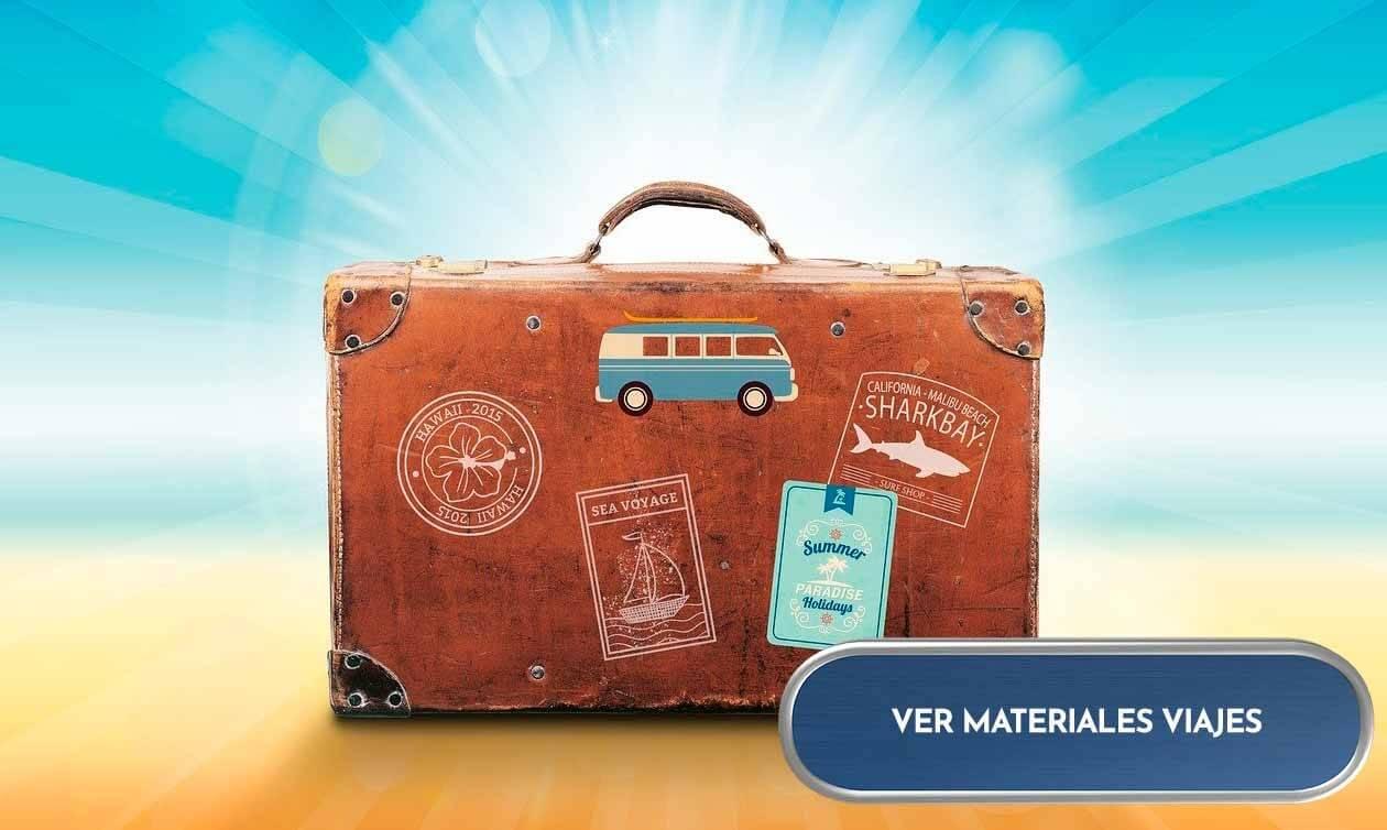 Materiales para viajes, para scrap y manualidades
