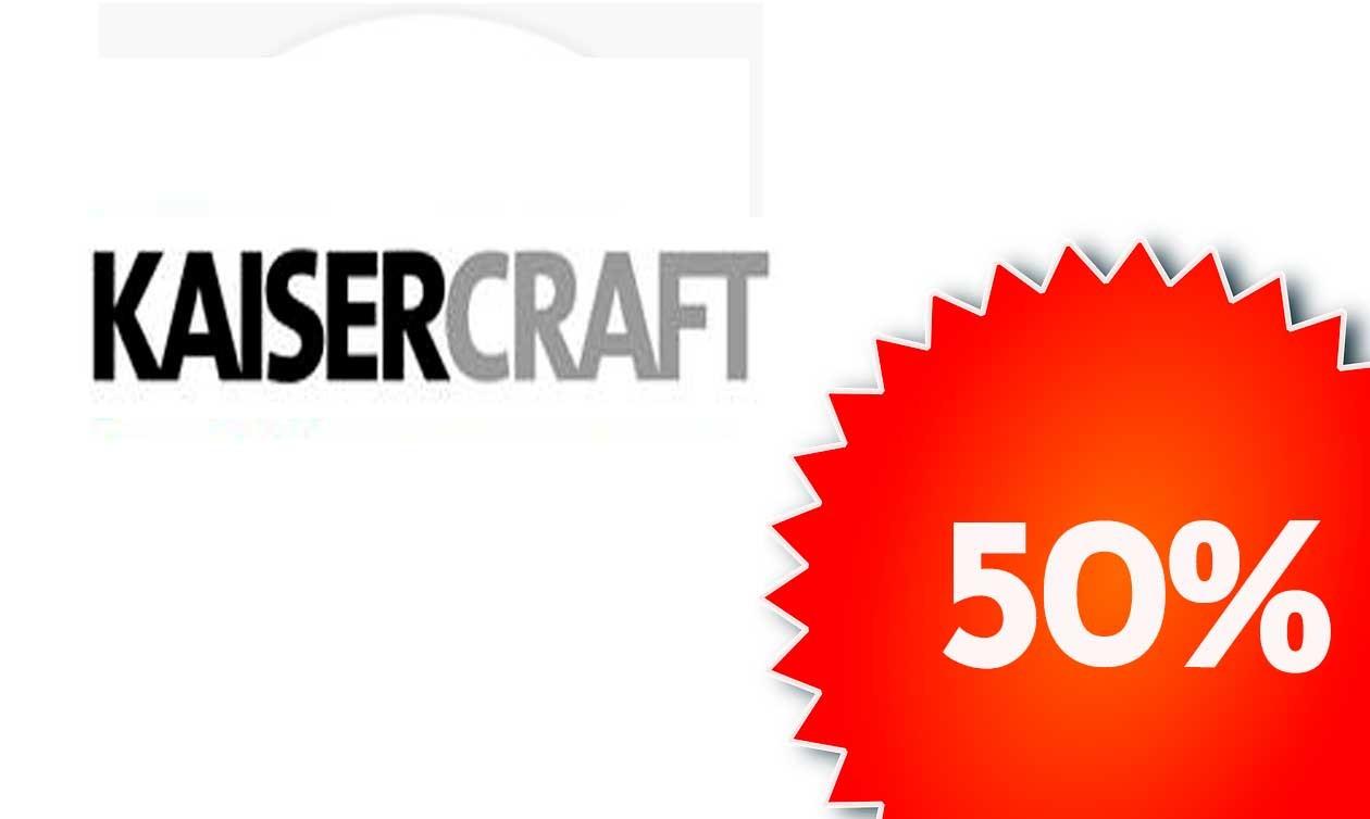 5 Marcas 50%. Hasta el 25 de Agosto, Kaiser Craft