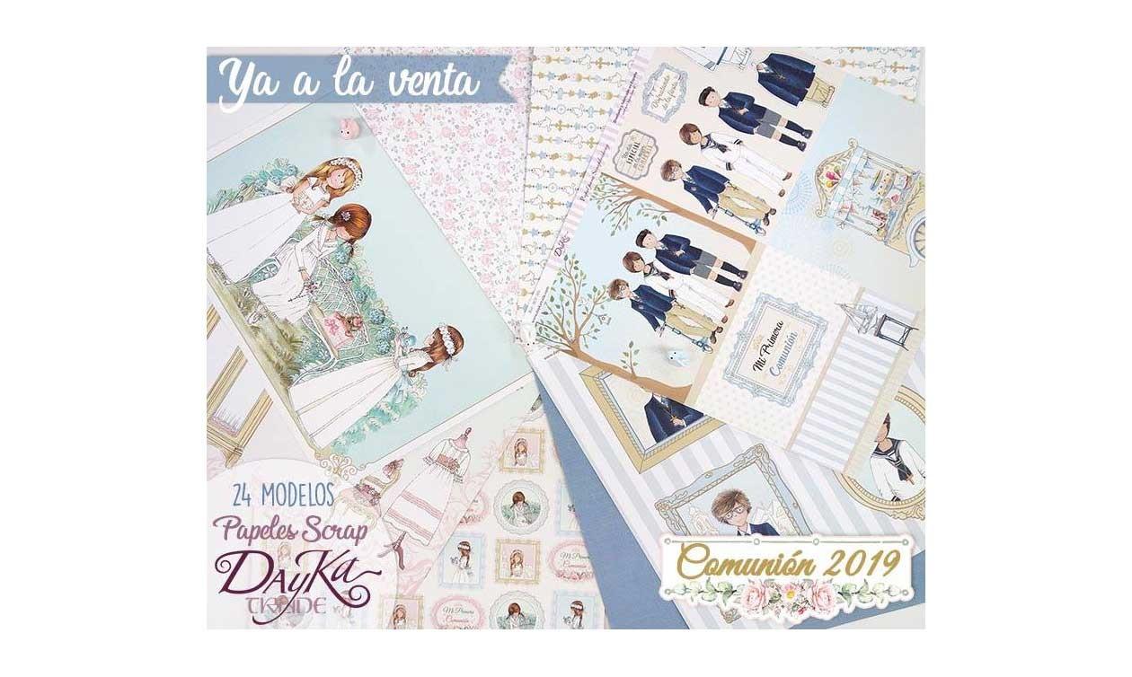 Colección Comuniones 2019 Dayka Trade