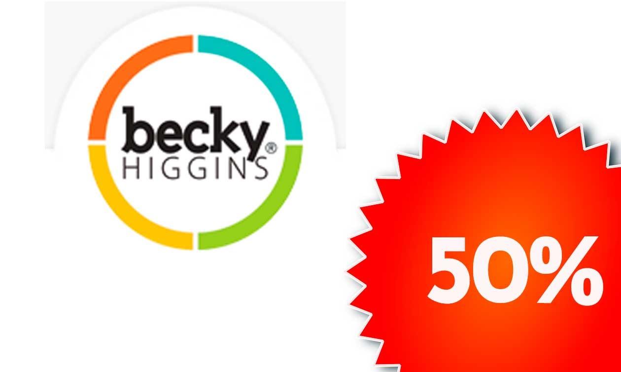 5 marcas al 50%. Hasta el 25 de Agosto, project Life Becky Higgins
