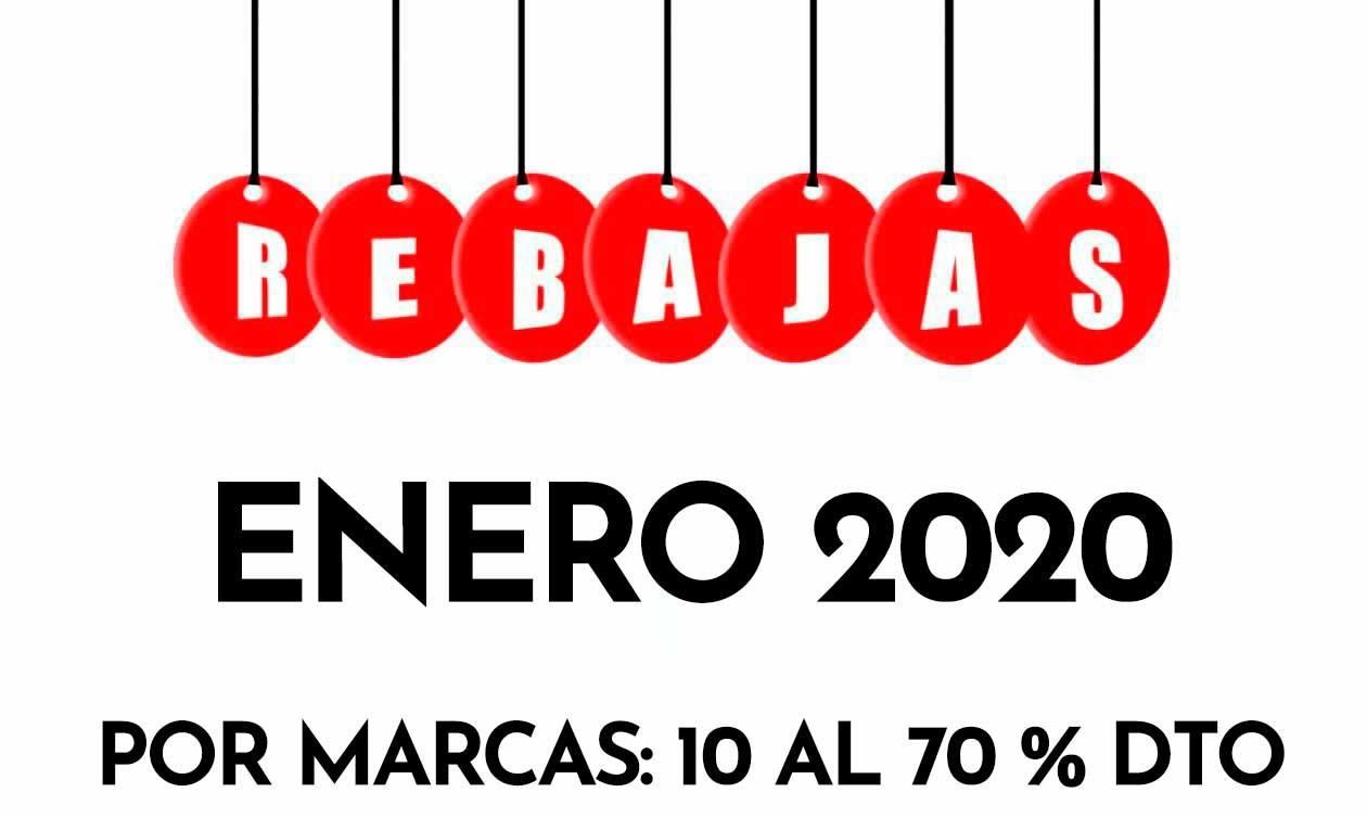 Rebajas Enero 2020 Tienda manualidades MYBA